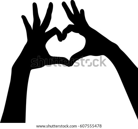 hands silhouettes free graphics download free vector art stock