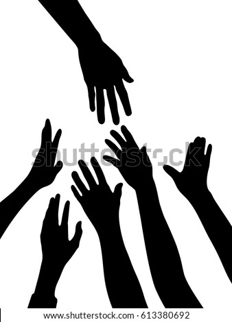 stock-vector-silhouette-vector-of-helping-hands