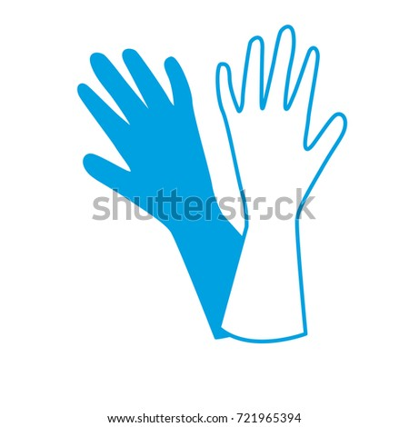 silhouette washing gloves design style to homework ez canvas