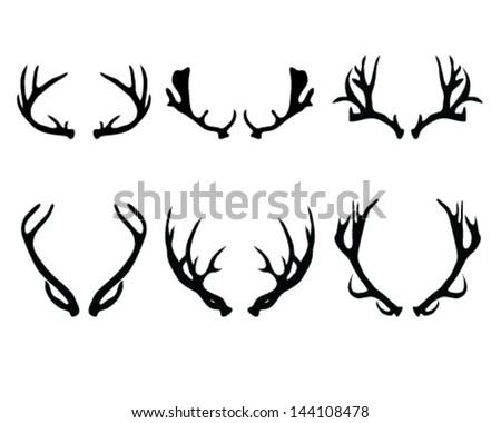 Shutterstock Eps 144108478 further Contour Carton Bow Set 33580478 as well Shutterstock Eps 334636295 as well Deer Vector Illustration Silhouette 506037361 further Deer Skull Decal Drop Tine. on christmas clip art deer head