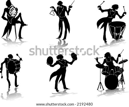 Brass band Popular Royalty-Free Vectors | Imageric com