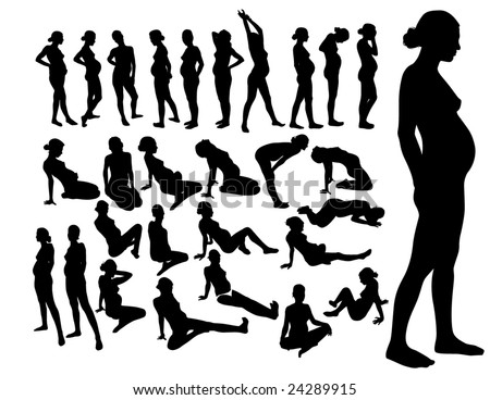 stock vector silhouettes of pregnant women 24289915 gay nipple play amateur pie sex offender registry pinal county.