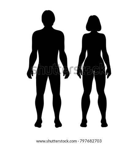 stock-vector-silhouettes-women-and-men-on-white-background