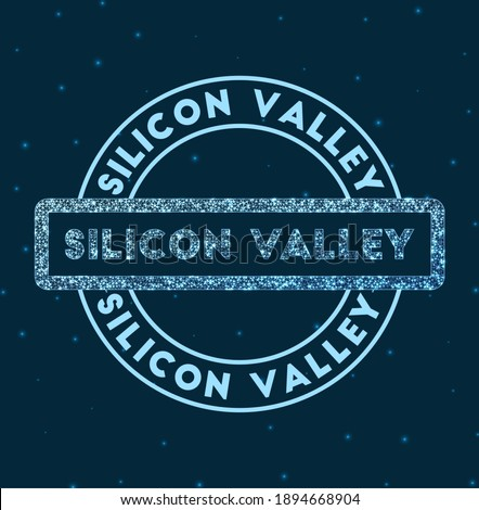silicon valley glowing round