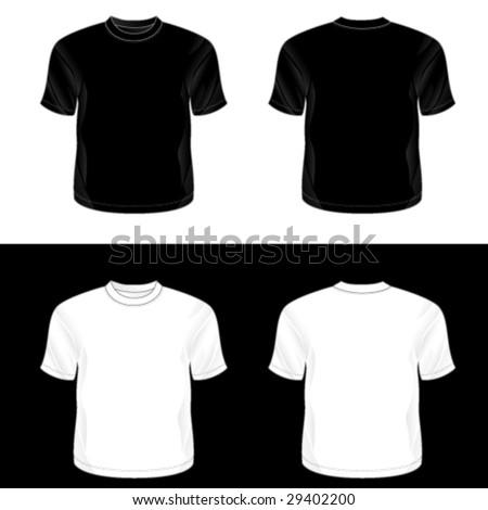 blank shirt template black. lank t-shirt templates.