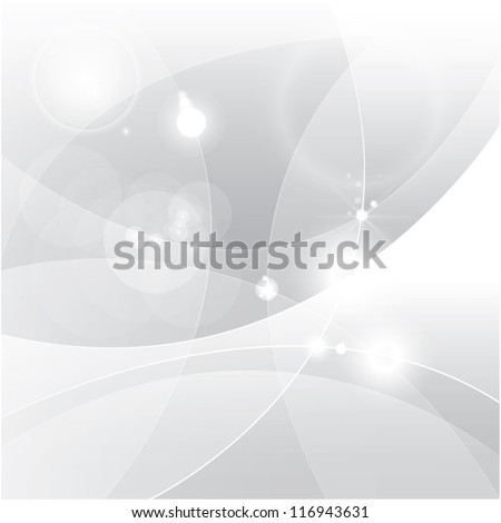 silver abstract vector