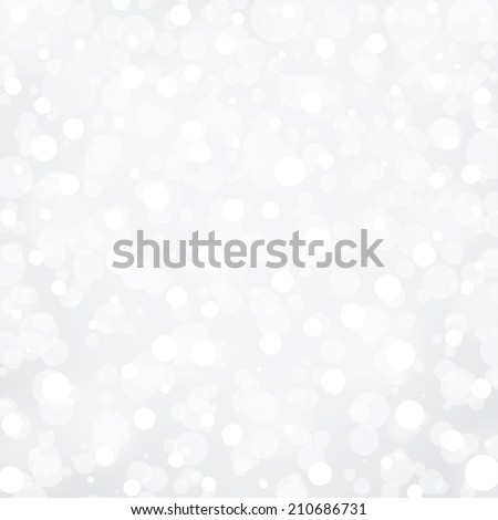 Silver and white abstract light background