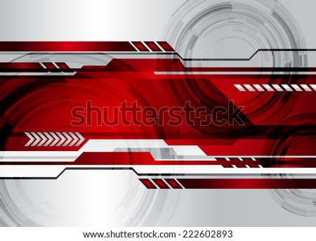 silver dark red light abstract