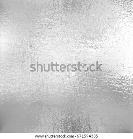 Silver foil texture, Vector illustration