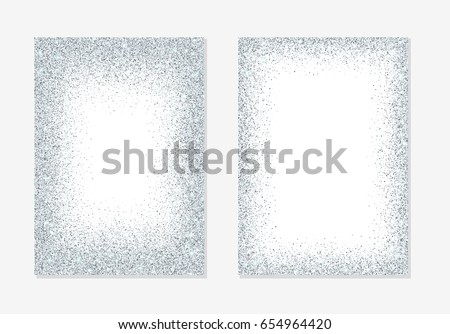 silver glitter background
