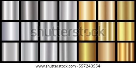 silver gold gradient background