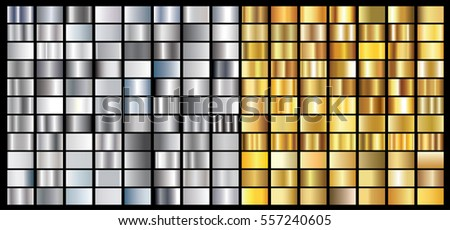 silver gold gradient background