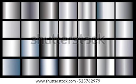 silver gradient background
