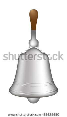 Silver hand bell