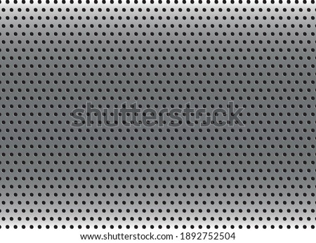 silver metal background with