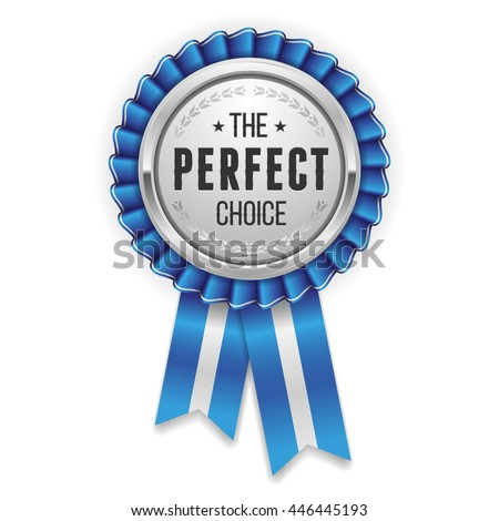 silver perfect choice rosette