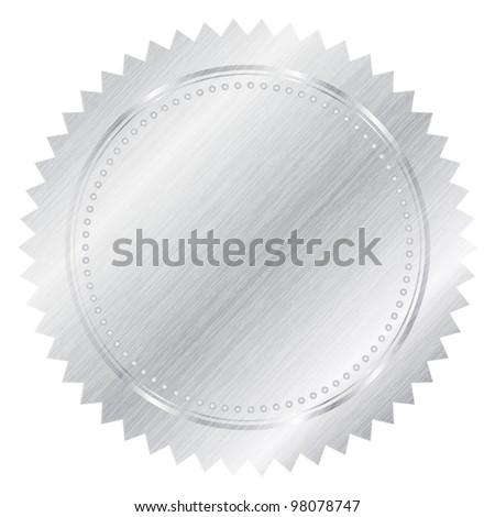 Silver seal