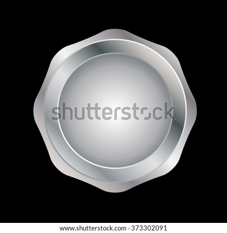 silver seal  vector silver