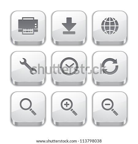 silver toolbar button icons no.2