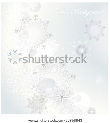 silver winter  ,Christmas  background