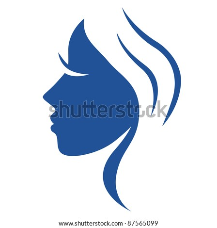 simple abstract beauty woman