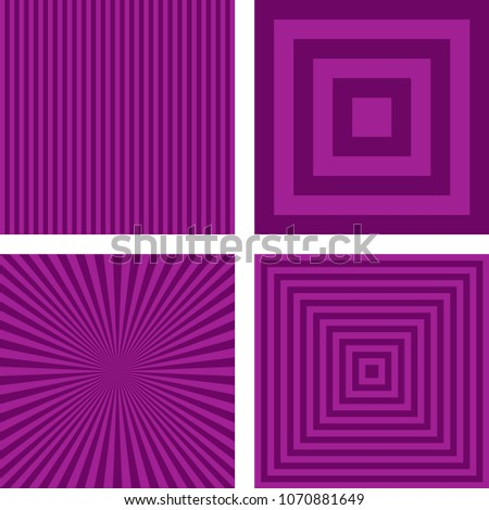 stock-vector-simple-abstract-purple-striped-pattern-background-set