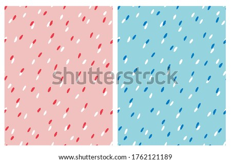 simple abstract spots vector