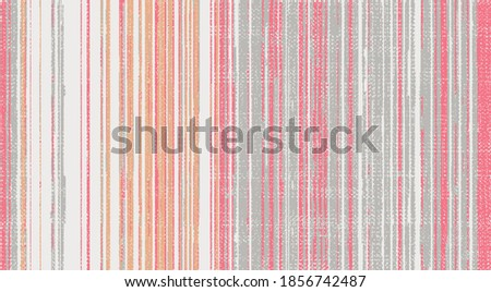 simple and elegant patternless natural texture or woven, antique effect vertical stripe  vector surface pattern seamless design Stockfoto ©