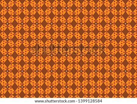 simple and simple batik pattern design. eps 10