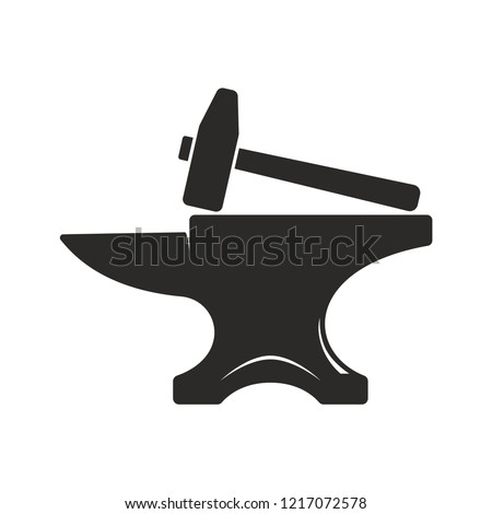 Simple Anvil Design For Tee Printing