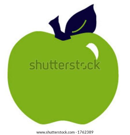 Simple apple.