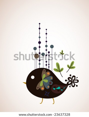 simple bird design