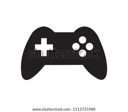 simple black sony gaming