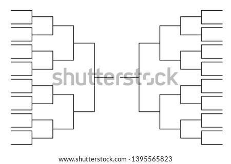 Soccer Tournament Bracket - Download Free Vector Art, Stock Graphics