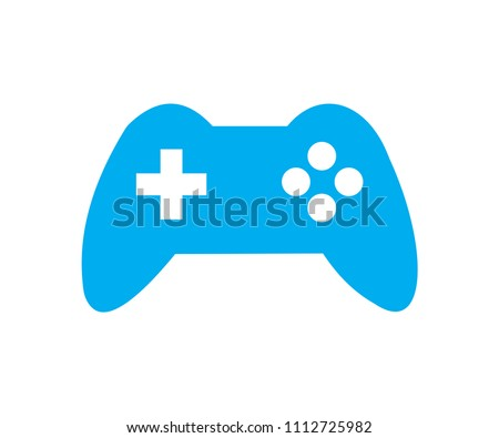 simple blue sony gaming