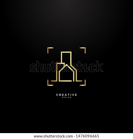 simple building and house logos