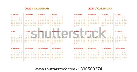 Calendario 2020 Vector Gratis.Calendario 2020 Free Vector Art 135 Free Downloads