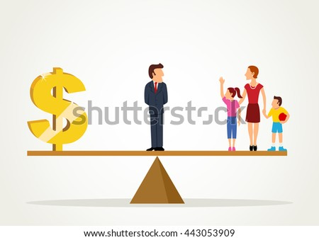 comparison between one career and two career family