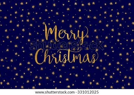 simple christmas card   dark
