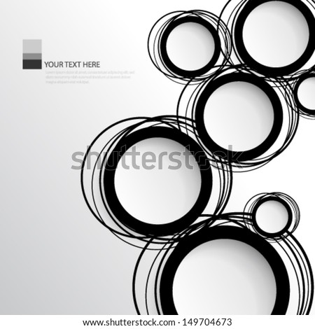 Simple Circles Background