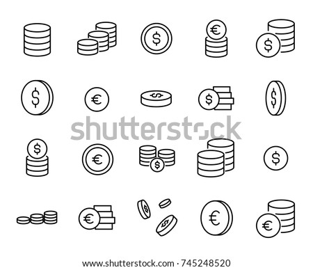 simple collection of coin