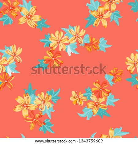 simple cute pattern in small