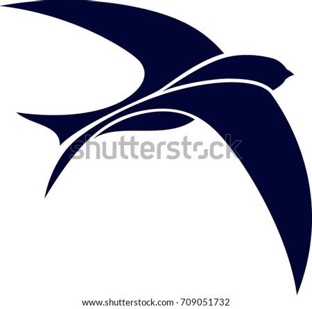 Simple Design of Swift Bird Flying