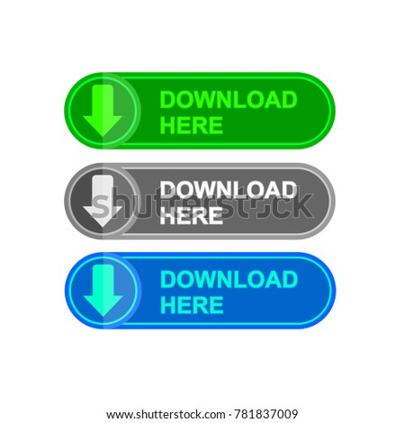 Simple Download Icon #781837009