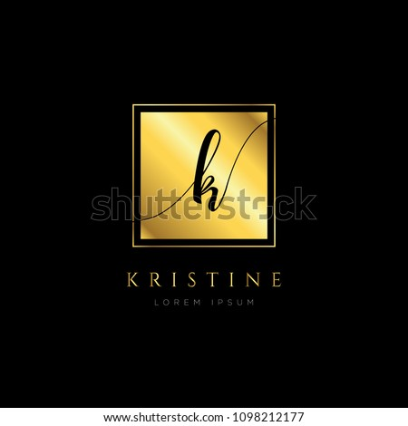 Simple Elegance Initial Letter Type Logo Sign Symbol Icon