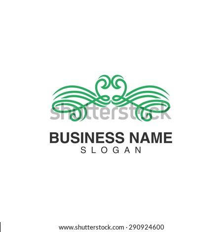simple elegant logo template