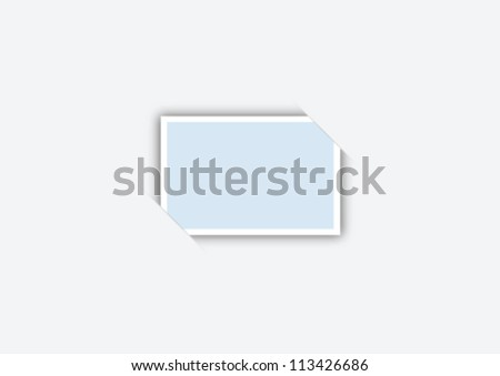 Simple elegant photo frame