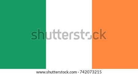 simple flag of ireland irish
