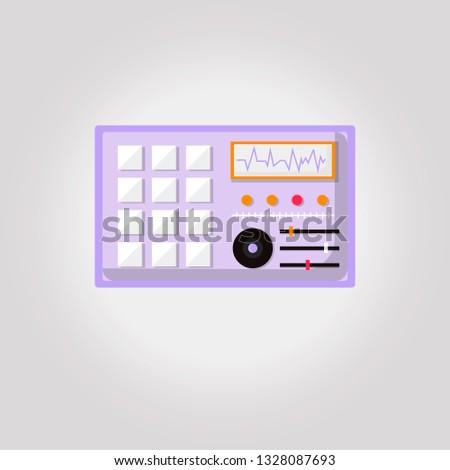 simple flat dj turntables