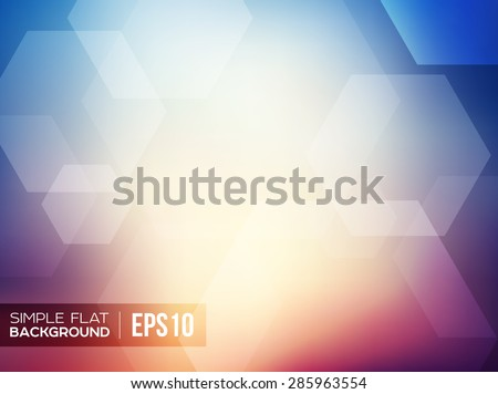 simple flat gradient background